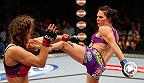 Dos de las más peligrosas contendientes del peso gallo se enfrentan en una batalla histórica: Cat Zingano vs Miesha Tate dieron a UFC la primera mejor pelea de la noche protagonizada por mujeres.