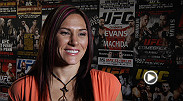 Number-one bantamweight contender Cat Zingano talks about tomorrow night's co-main event and why she's rooting for Ronda Rousey to win.