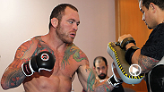 Check out a day in the life of UFC star Chris 'The Crippler' Leben as he prepares for UFC 168 - filmed by Intravid.com.