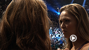 Bantamweight champion Ronda Rousey and challenger Miesha Tate face off before their bout at UFC 168. Plus, UFC legend Anderson Silva takes the scale before his battle with current champion Chris Weidman.