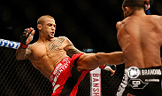 Featherweight Dustin Poirier on the bad blood between himself and Diego Brandao and what it was like to get that first-round finish.