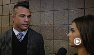 UFC.com's Megan Olivi interviews middleweight contender after the shocking UFC 168 main event between Chris Weidman and Anderson Silva.