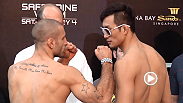 Watch the official weigh-in for UFC Fight Night: Saffiedine vs. Lim.