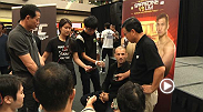 Megan Olivi takes us inside the UFC Singapore media day - watch the full video on UFC.TV/FightPass