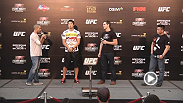 UFC Macao 2014 headliners John Hathaway and Dong Hyun Kim join Cung Le and Jon Anik on stage to talk about their upcoming bout and more.