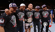 Along with the UFC heavyweight title, Cain Velasquez won his dream bike at UFC 155.