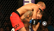 TJ Dillashaw suffered an early KO against John Dodson in the TUF 14 finale. But the Team Alpha Male fighter was persistent, reeling off four straight wins, three by KO or submission. Check out the second win in that streak, a submission of Vaughan Lee.