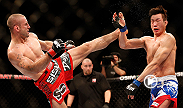 In the five-round main event, former Strikeforce welterweight champion Tarec Saffiedine makes his awaited UFC debut against hard-hitting Korean knockout artist Hyun Gyu Lim.