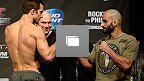 Galerie photos de la pesée de l'UFC Fight Night : Rockhold vs Philippou