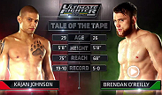 Kajan Johnson from Team Canada takes on Team Australia's Brendan O'Reilly in the first fight of the TUF Nations season.