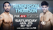 UFC Fight Night is live from Chicago, Illinois, headlined by a lightweight bout between former lightweight champ Benson Henderson and Josh Thomson.