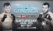 UFC Fight Night features a clash between the eighth ranked heavyweight Stipe Miocic and Brazilian powerhouse Gabriel Gonzaga (#12).