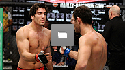 Octagon photos from the second episode of TUF Nations: Canada vs. Australia. Featuring the fight between Elias Theodorou and Zein Saliba.