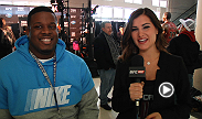 Chicago Bears offensive tackle Jordan Mills joins Megan Olivi at the UFC Fight Night media day. Mills discusses the similarities between football players and fighters and who he's rooting for in the main event.
