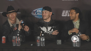 Hear from UFC on FOX 10 headliner Benson Henderson and an emotional Josh Thomson following their bout. Plus, Donald Cerrone and Eddie Wineland discuss their wins.