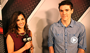 Chicago Blackhawks center Andrew Shaw joins Megan Olivi to discuss his first live UFC event and whether or not he thinks he could go a round--or two--with Henderson or Thomson.