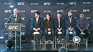 Watch a special event press conference from the UFC team in Quebec City, Canada.