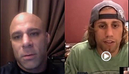 MMA Oddsbreaker's Frank Trigg speaks with UFC 169 bantamweight Urijah Faber as he prepares for his title bout Saturday night against Renan Barao