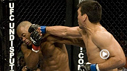 Lyoto Machida, one of the most diverse strikers in UFC history, hurt then-champion Rashad Evans several times before using a flurry of punches and kicks to end the fight and become the new UFC light heavyweight titleholder.