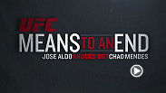 Featherweight champion Jose Aldo provides an exclusive look into his victory over then-undefeated Chad Mendes. Aldo, who hasn't lost since 2005, recalls the victory being one of the best of his career.