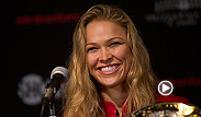 "UFC women's bantamweight champion Ronda Rousey talks with MMA H.E.A.T about Judo, her UFC 170 bout with former Olympian Sara McMann, and upcoming roles in ""Entourage"" and ""Athena Project."""