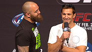 Check out the UFC Fight Club Q&A with heavyweight contender Travis Browne and middleweight contender Luke Rockhold.