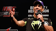 Paula Sack catches up with Fight Night Jaragua headliner Lyoto Machida to discuss his upcoming bout with Gegard Mousasi, his thoughts on the co-main event and the status of the middleweight division today.