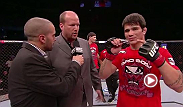 Erick Silva talks with Jon Anik about his first-round finish at Fight Night Jaragua. The young Brazilian discusses his work in the weeks up to the fight and how his camp played a role in his win.