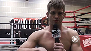 UFC 170 competitor discusses his upcoming bout with TJ Waldburger at UFC 170. But first, the welterweight shows off a special talent to get the interview going.