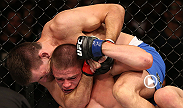 Grappling phenom Demian Maia works his world-class ground game against Rick Story at UFC 153.