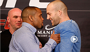 After a feud-filled week, Daniel Cormier intensified his rivalry with Patrick Cummins after shoving his former Olympic training partner at the press conference.  Two days from now, the fighters will finally meet inside the Octagon.