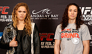 The ladies will take center stage tomorrow night as Ronda Rousey and Sara McMann will compete for the women's bantamweight title in the main event of UFC 170.