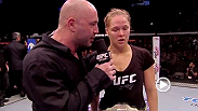 Women's bantamweight champion Ronda Rousey discusses her third-straight title defense and opponent Sara McMann shares her thoughts on the fight.