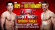 Dong Hyun Kim and John Hathaway put their respective win streaks on the line at UFC Fight Night Macao on Saturday. Will Hathaway, who hasn't fought in almost a year, be able to knock off the ring rust? Or will Kim continue his rise through the ranks?