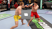 Photos from the seventh episode of TUF Nations: Canada vs. Australia, featuring the fight between Olivier Aubin-Mercier and Jake Matthews.