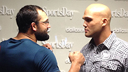 Take a deeper look at the UFC 171 main and co-main events. Johny Hendricks battles Robbie Lawler for the vacant UFC welterweight strap