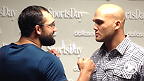 Take a deeper look at the UFC 171 main and co-main events. Johny Hendricks battles Robbie Lawler for the vacant UFC welterweight strap while Carlos Condit and Tyron Woodley go to war for dibs at the next title shot.