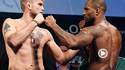 Watch the full weigh-in for UFC Fight Night London: Gustafsson vs. Manuwa.