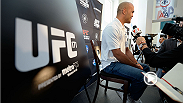 UFC correspondent Megan Olivi goes behind the scenes at Thursday's Ultimate Media Day to speak to pundits and UFC 171 main and co-main event stars about the big event this weekend.
