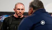 UFC correspondent Megan Olivi interviews Johny Hendricks' nutrition coach Mike Dolce after his fighter missed weight on his first attempt. Dolce explains the discrepancy on scales and how Hendricks was able to get the extra weight off.
