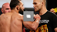 UFC® 171 weigh-in at Gilley's Dallas on Friday, March 14, 2014 in Dallas, Texas.