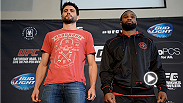 UFC 171 main and co-main event stars offer their take on the welterweight division without former long-time champion Georges St-Pierre. Each know that the division is now wide open and have aspirations to be crowned champion.