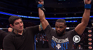 "Tyron Woodley meets with Joe Rogan following his win over Carlos Condit at UFC 171. Calling Condit the, ""toughest guy in the division,"" Woodley reflects on his victory and discusses what's next."