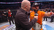 New welterweight champion Johny Hendricks joins Joe Rogan to reflect on his win over UFC veteran Robbie Lawler at UFC 171. Watch Hendricks' reaction to Bruce Buffer's announcement and talks about what it was like to win the belt in his home state.