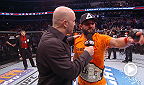 UFC president Dana White announces post-fight bonuses and fighters Johny Hendricks, Robbie Lawler, Myles Jury and Tyron Woodley reflect on their performances.