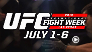 UFC INTERNATIONAL FIGHT WEEK™ RETURNS TO LAS VEGAS JULY 1-6 
