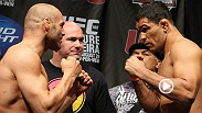 After losing his heavyweight title to Frank Mir, Minotauro Nogueira looked to rebound against legend Randy Couture. Watch the duo battle it out in the Fight of the Night from UFC 102 .