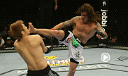 Featherweight Clay Guida gets his third consecutive win, all by submission, in this UFC 125 bout against Takanori Gomi.