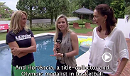 For the first time ever women have been employed as assistant coaches on TUF Brazil. Paula Sack interviews Hortencia Marcari and Isabel Salgado about their roles and how they were immediately put to the test.
