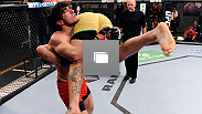Photos from the 11th episode of TUF Nations, featuring the semifinal fight between Tyler Manawaroa and Elias Theodorou.